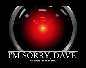 HAL 9000: I'm Sorry, Dave